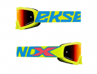EKS Goggles Youth Flo Yellow / Ice Blue